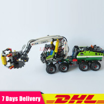Lepin 20083 Technic Series Harvester Forestry Machine